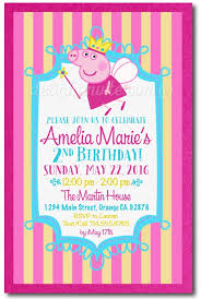 peppa pig birthday invitations badbrya com