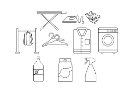 laundry line design free laundry line icon vector download free vector art stock