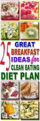 25 great breakfast ideas for clean eating diet plan clean eating