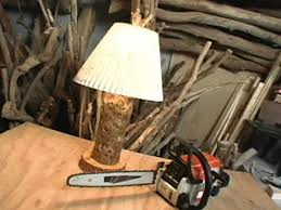 rustic driftwood lamp hgtv