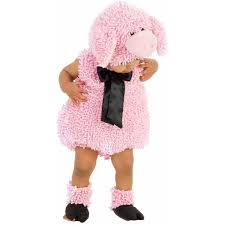 Girls Toddler Halloween Costumes Squiggly Pig Girls U0027 Toddler Halloween Costume Walmart