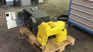 fanuc robot lrmate 100i control rj2 youtube