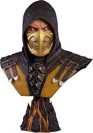 Scorpion Halloween Costume Mortal Kombat Scorpion Size Bust Pop Culture Shock