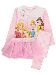 disney princess pyjamas with tutu george