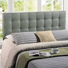 Fabric Bedroom Furniture by Amazon Com Modway Lily Upholstered Tufted Fabric Headboard Queen