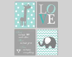 Nursery Decor Pictures by Baby Boy Nursery Art Chevron Elephant Nursery Decor Giraffe