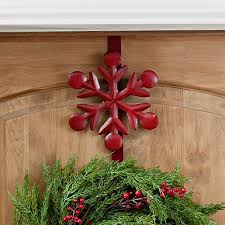 Red Metal Christmas Decorations by Outdoor Christmas Decorations Kirklands