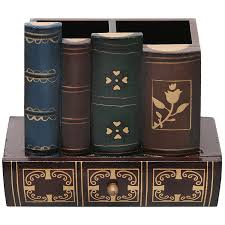 amazon com decorative library books design wooden office supply