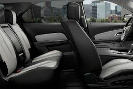 how many seats does a how much room is in the 2017 chevy equinox