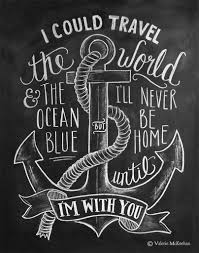 wedding quotes nautical i could travel the world nautical theme print words to live by