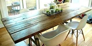 Refurbished Dining Tables Reclaimed Table And Chairs School House Plank Dining Table And