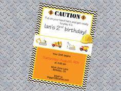 personalized boy tools birthday invitation printable you print