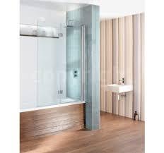 Inward Opening Shower Door Simpsons Design Semi Frameless Bath Screen Dual Inward