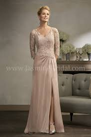 of the gowns k198002 v neck lace satin chiffon mob dress with