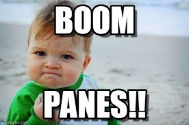 Boom Panes Meme - boom success kid original meme on memegen