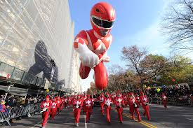 thanksgiving day parade coverage red ranger balloon to return to macy u0027s 90th thanksgiving day