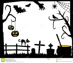 Cat Silhouette Halloween Halloween Border Silhouette U2013 Festival Collections