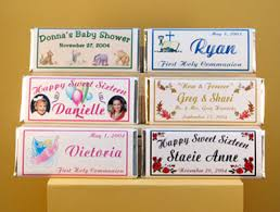 candy bar bags personalized party favors products gifts personalized custom candy bar