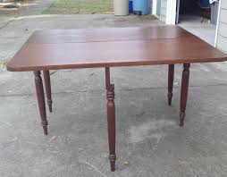 solid wood drop leaf table and chairs vintage one sided solid wood drop leaf table furniture home by