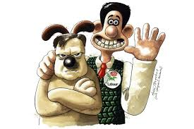 wallace gromit creator happy ed miliband cartoons