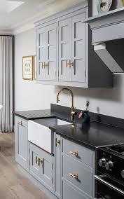light grey kitchen cabinets light grey kitchen with brass kitchen hardware buster punch