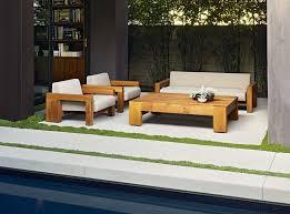 Low Patio Furniture - marmol radziner