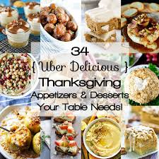 healthy thanksgiving appetizers desserts