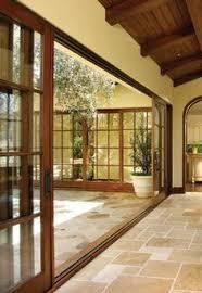 atrium sliding glass doors la porte coulissante vitrée la peinture est la nature steel