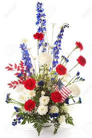 white and blue floral arrangements flower arrangement in white and blue to celebrate america