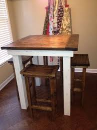 Kitchen Bar Table And Stools Diy Kitchen Table And Pub Chairs I I Can Talk My Husband