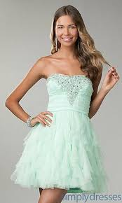 cute multi colored crystals accented short cocktail dress cheap