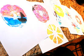 printmaking with cds for kids u2013 the pinterested parent