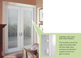 Glass Blinds Amusing French Patio Doors With Blinds Between Glass 68 For Your