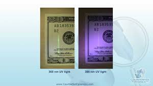 what does uv light do 17 selecting and using uv lights to spot counterfeit u s currency