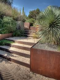 garden landscape stairs retaining wall design ideas i love the