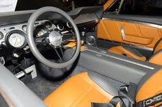 1966 ford mustang dash 1966 ford mustang fastback leather and alcantara custom