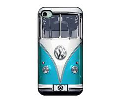 black volkswagen bus amazon com light blue vw case retro classic iphone 5 case