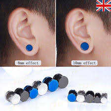 black stud earrings for men black stud earrings for men ebay