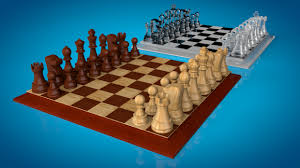 Futuristic Chess Set Chess 3d Models Free 3d Chess Download