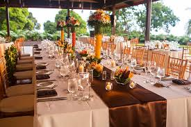 table and chair rentals big island romantic wedding pavilions on the big island luva vacation rentals