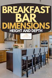 bar height kitchen base cabinets breakfast bar dimensions height and depth home decor bliss