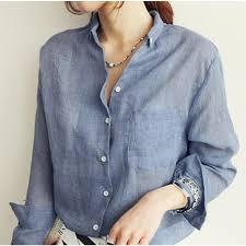 linen blouses wholesale cotton linen shirt blouse autumn blouses white