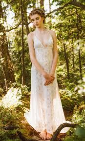backless lace wedding dress low back wedding dress by elikadesigns