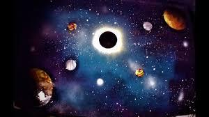 Spray Paint Universe Black Hole Spray Paint Art Youtube