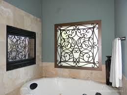 Wrought Iron Bathroom Accessories by Faux Iron Grilles Decorative And Custom Options