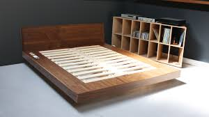 bed frame with drawers plans free create a modern look in any