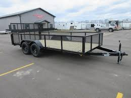 Landscape Trailer Basket by Steel Utility U0026 Ls Custom Enclosed Cargo Trailers And Car Trailers