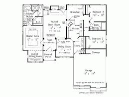new american house plan with 1502 square feet and 3 bedrooms from
