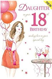 sister happy 18th birthday to you birthday card amazon co uk