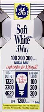 100 200 300 light bulb kroger ge 100 200 300 watt 3 waysoft white light bulb